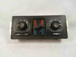 ★ 2003 Gm Dual Zone A/c Climate Temperature Control Switch Heater Rear Defroster