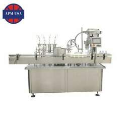 Sample Perfume Vial Filling Line Series with Iso9001 Certificate