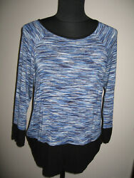 CABLE AND GAUGE striped top size M $9.99