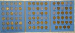 63 Coin Set 1909-1940 Lincoln Wheat Penny Cent - Early Dates Collection  224