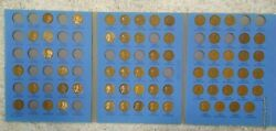 63 Coin Set 1909-1940 Lincoln Wheat Penny Cent - Early Dates Collection  222