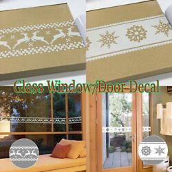 10m Glass Window Door Sticker Tape Skirting Border Decal Wallpapers Holiday Arts