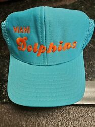 Vintage Miami Dolphins Snapback Hat See Pictures