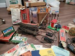 Lionel Train Signals, Switch Controls, Manuals, Tracks, And Signs 1950s