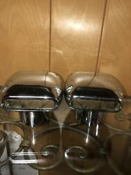 1950's Ford Mercury Exhaust Chrome Tips Pair Be-125-r Be-125-l Pair Lot 2