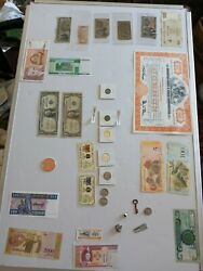 Silver Coins Andcertificates Gold Fractional Currency Antiques Rare Notes Huge Lot