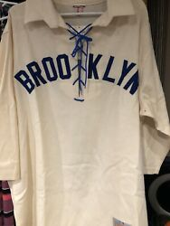 Mitchell And Ness Brooklyn Dodgers Jersey Size Xxl
