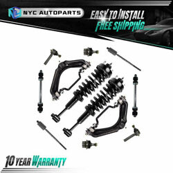 12pc Front Struts Upper Control Arms Suspension Kit For 2002-2003 Ford Explorer