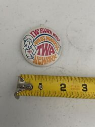 Vintage 1960andrsquos Twa Pin - Andldquofly With Wings Wonderful - Very Rare - No Reserve -