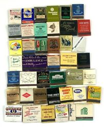 Lot Of 42 Old Vintage Matches Matchbooks Binions Golden Nugget Hotel Edison More