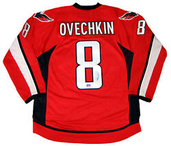Alexander Ovechkin Signed Red Washington Capitals Jersey