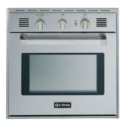 Verona Vebig24nss 24 Inch 2 Cu.ft. Capacity Gas Single Wall Oven Stainless Steel