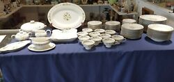 Rosenthal Selb Germany Winifred Fantasia Pattern 90 Pc Dinner Service Set For 12