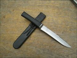 Nice Old Vietnam War-era Theater-made Carbon Steel Dagger Boot Or Fighting Knife