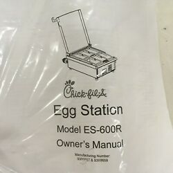 Antunes Egg Station Industrial Kitchen Cookware Es-600r Cooks 120 Eggs An Hour