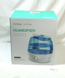 Homasy Cool Mist Humidifier, 2.2l Ultra Quiet Ultrasonic With 360 Degree Nozzle