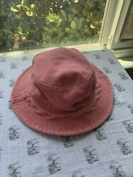 American Eagle Denim Salmon Faded Pink Bucket Hat Unisex USED ONCE $19.99