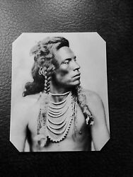 Native American Curley, Custer's Scout Tintype C547rp