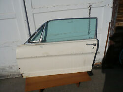 1965 Mustang Driver Driverside Drivers Side Door With Data Plate Original Glass