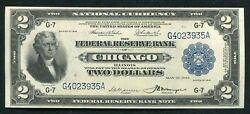 """Fr. 766 1918 2 """"battleship"""" Frbn Federal Reserve Bank Note About Uncirculated"""