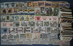 [ A2a ] - Extra Large Collection 1,250 Different Notgeld Germany, All Series Un
