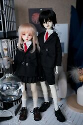 1/4 Myou Msd Bjd Clothes Jk Casual Uniforms Suit Pleated Skirt Clothing Cosplay
