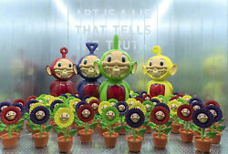 New Sealed Ron English Growing Grin Telegrinnie Sunflower 4colors Edition Of 200