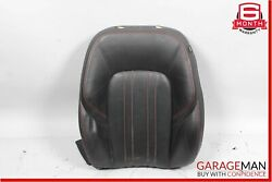 14-17 Maserati Ghibli Front Left Driver Side Top Upper Seat Cushion Cover Black
