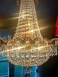 Crystal Chandelier With Crystals Dining Room Lighting 28