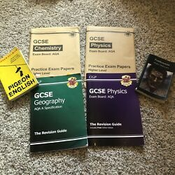 Gcse Textbooks Revision Guides Practice Chemsitry Physics Geography Frankenstien