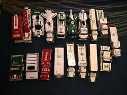 Lots Of Hess Trucks Total 21 In Good Condition 1990-2016