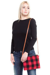 ScarvesMe Women#x27;s Chic Crossbody Buffalo Check Clutch Shoulder Hand Bag $19.99