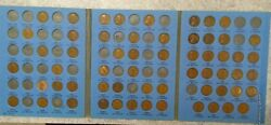 59 Coin Set 1909-1940 Lincoln Wheat Penny Cent - Early Dates Collection 253
