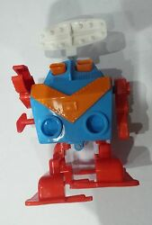 Ussr Russian Soviet Rare Vintage Wind Up Space Toy Robot Plastic Working Key