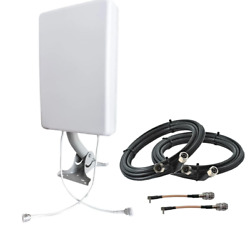 Mimo Panel External Antenna Kit For 4g Lte/5g Hotspots And Routers