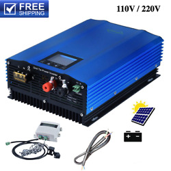 1200w Grid Tie Inverter With Limiter Sensor+battery Discharge Power Mode Dc Home