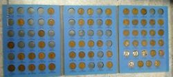 59 Coin Set 1909-1940 Lincoln Wheat Penny Cent - Early Dates Collection  270
