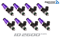 Injector Dynamics 2600-xds Fuel Injector 8pc 60mm For Ford Mustang F-150 Raptor