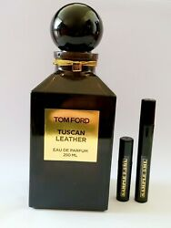 Tom Ford Tuscan Leather Edp - 2.5 Ml 5 Ml Or 10 Ml Travel Size Fragrance Tester
