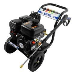 Excell Gas Pressure Washer 3100 Psi 2.8 Gpm Axial Pump 5-quick-connect Nozzles