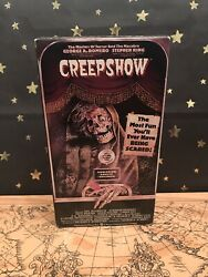 Creepshow {vhs} Stephen King George Romero 1982 Horror Cult Classic Preowned
