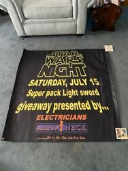 Syracuse Chiefs Star Wars Night Banner Ibew Finger Lakes Chapter