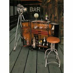 Polo Club Bar Black Wood 38.6 By Authentic Models
