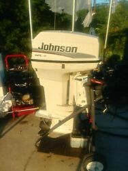 50 Hp Outboard Johnson Motor 1997 Cowl Top And Bottom Spl J50esleus