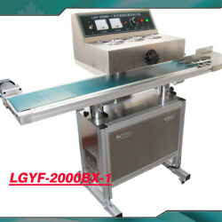Electromagnetic Continuous Vertical Induction Sealer Lgyf-2000bx-1 In Factory