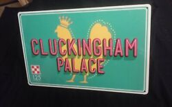 NEW PURINA #x27;CLUCKINGHAMquot; PLACE CHICKEN SIGNS