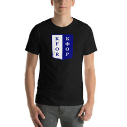 Kfor Nato Peacekeeping Force In Kosovo Bella + Canvas 3001 T-shirt