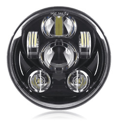 5 3/4 Daymaker Replacement Black Projector Led Light Bulb Headlight Motorcycle