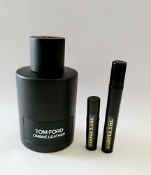 Tom Ford Ombre Leather Edp - 2.5 Ml 5 Ml Or 10 Ml Travel Size Fragrance Tester