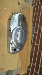 Wide Case Primary Cover W/inspection Plate And Timing Plug.andnbsp Case Polished